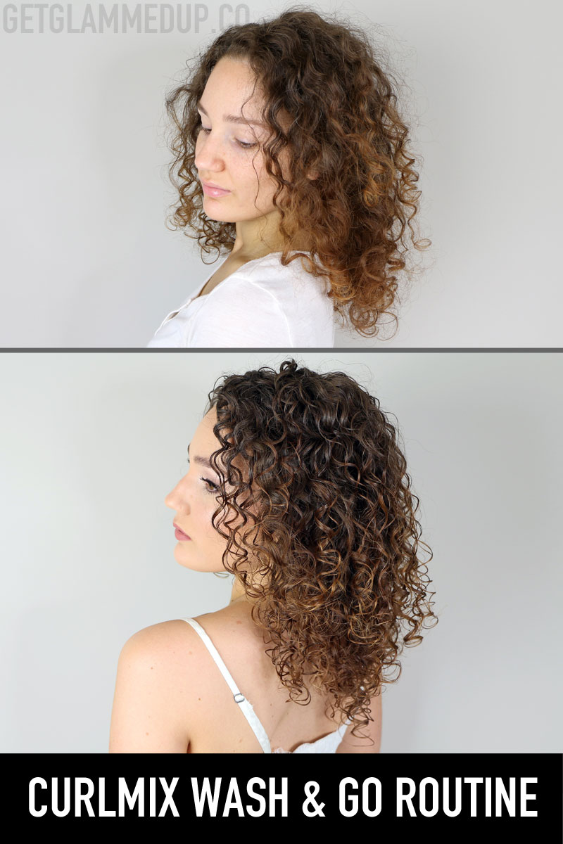 CurlMix Wash & Go Routine