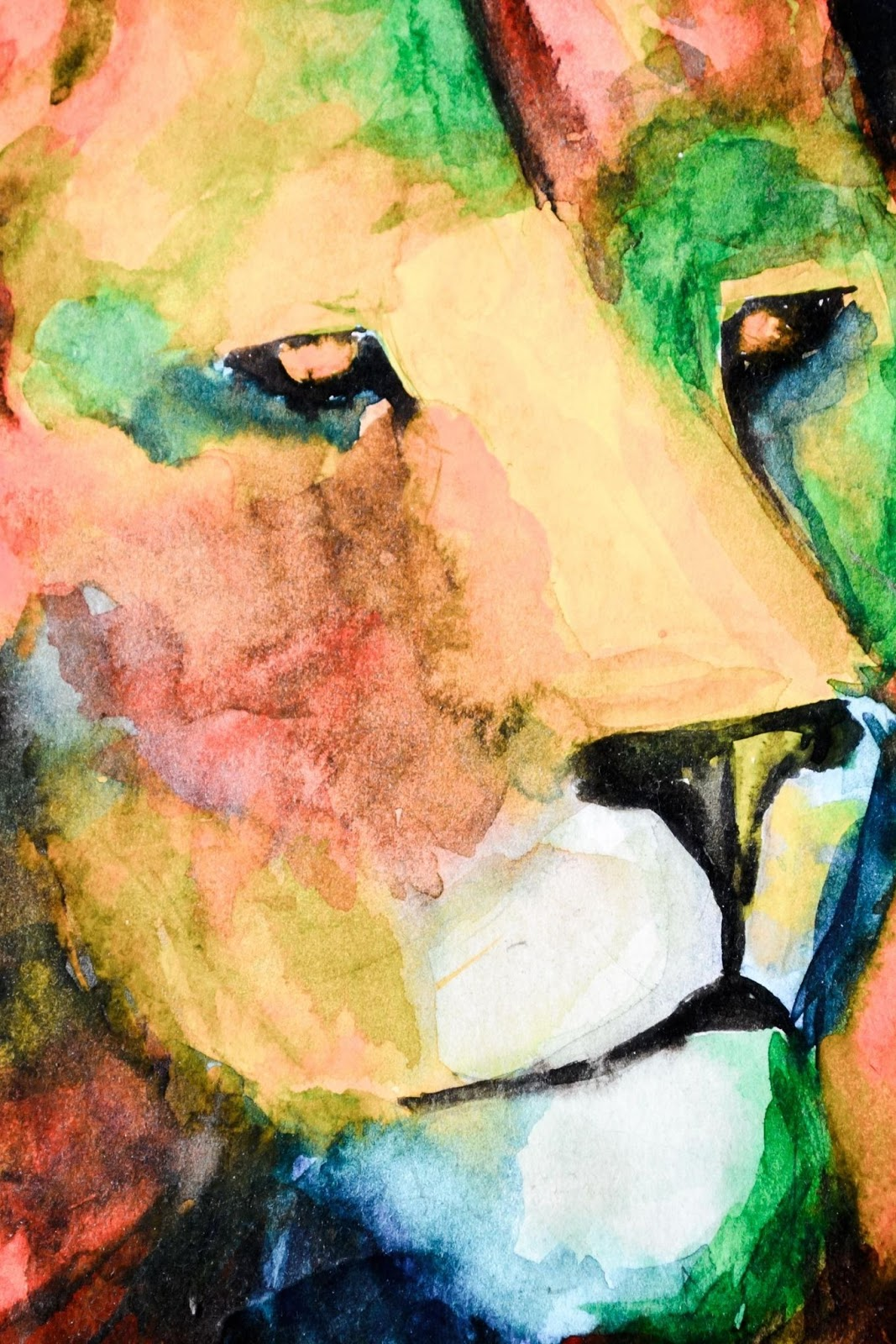 Best Lion Drawings What's behind the face paint? best lion drawings