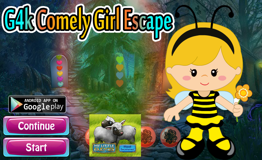 Games4King - Comely Girl Escape