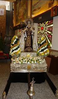 Comunicado oficial que anuncia la suspensión de la procesión de Nuestra Señora del Carmen, patrona de Marbella.