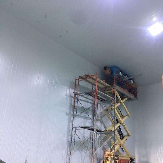 thi công lắp đặt kho trữ đông lạnh 1000 tấn