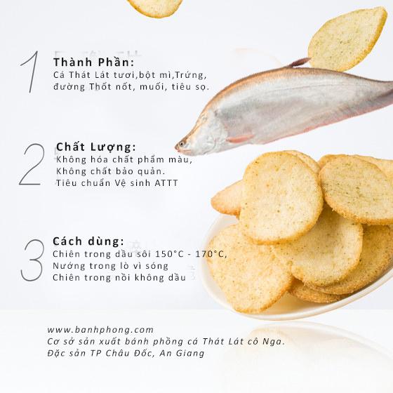 Bánh phồng cá Thác Lác