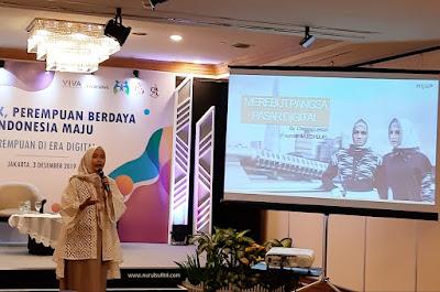 vivatalk peran perempuan di era digital menuju indonesia maju isu kesetaraan gender talkshow nurul sufitri travel lifestyle blogger review hotel millenium