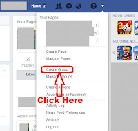 how to create a facebook group of friends