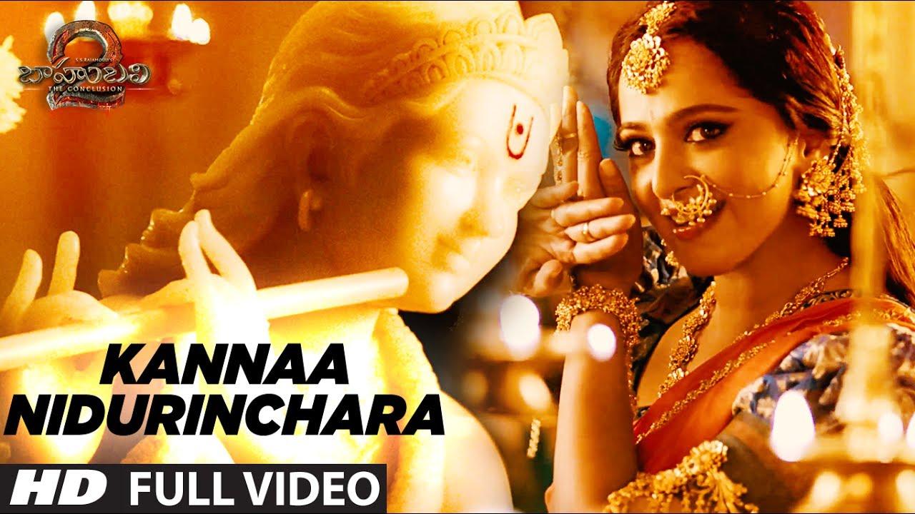 Kannaa Nidurinchara Song Lyrics Bahubali 2 The Conclusion 2017 Prabhs Rana Telugulyrics2u