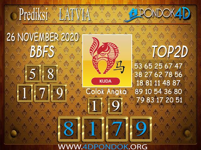 Prediksi Togel LATVIA PONDOK4D 26 NOVEMBER 2020