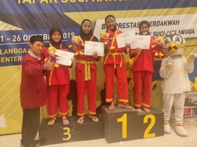Pesilat SMAM 8 Gresik Sabet Emas di Kejuaraan Airlangga Open