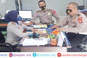 Perbaikan Rambu-Rambu Lalu Lintas dan Traffic Light, Satlantas Polres Gowa Lakukan Koordinasi di Kantor Dinas Perhubungan