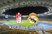 مباراة غرناطة وريال مدريد بث مباشر بتاريخ 13-05-2021 الدوري الاسباني