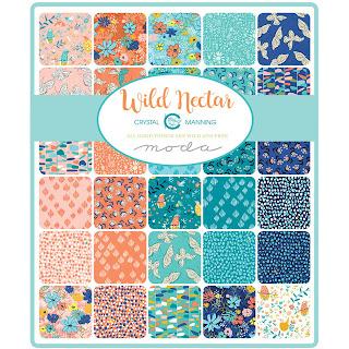 Moda Wild Nectar Fabric by Crystal Manning for Moda Fabrics