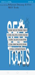 Free SEO Tools Apk Website Terbaru