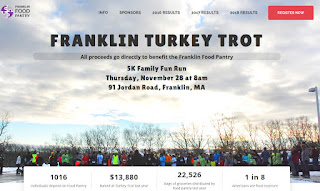 Franklin TURKEY TROT Registration Open