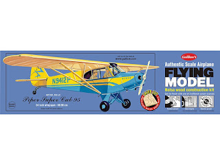 This was the first balsa wood airplane