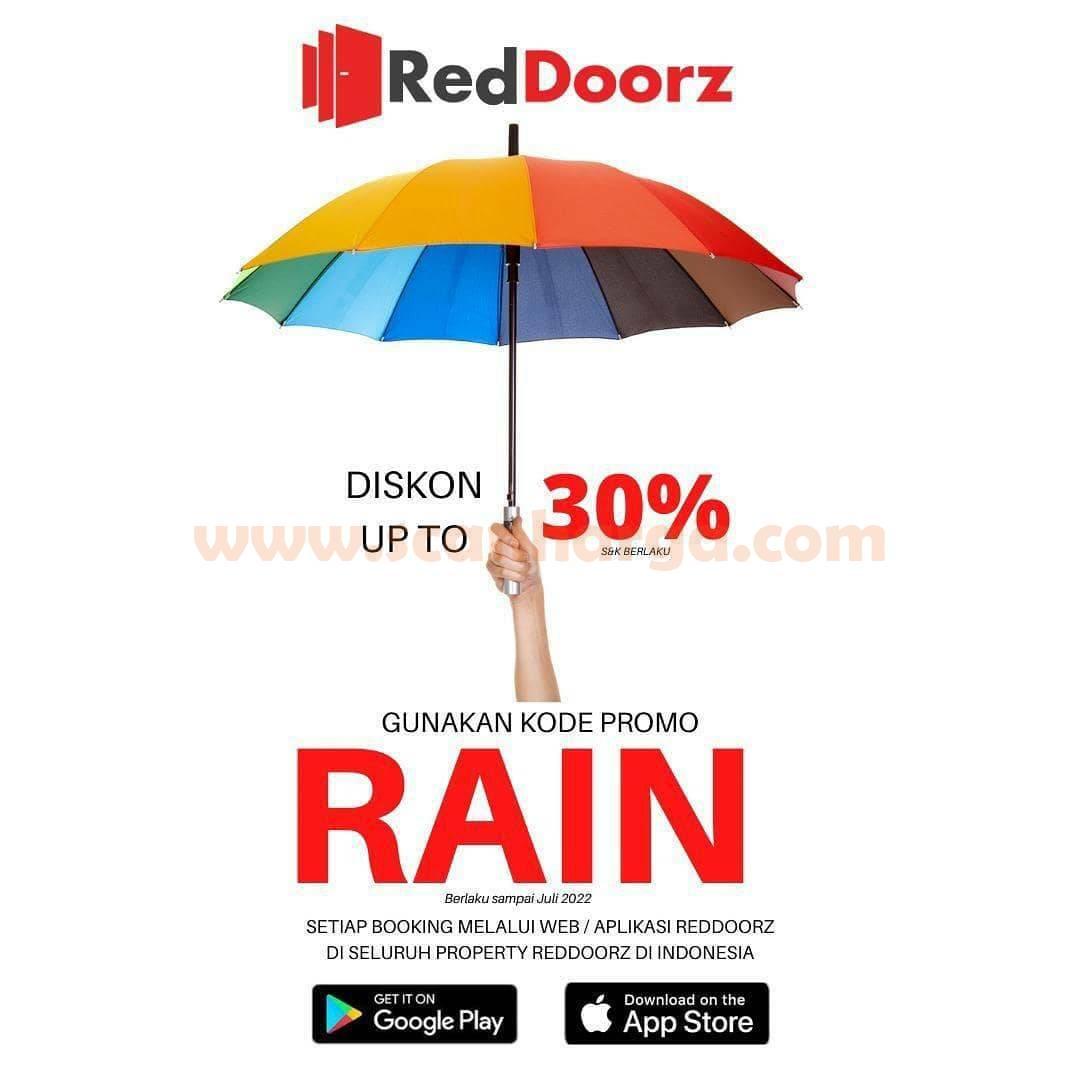 RedDoorz Promo Diskon up to 30% Awal Tahun