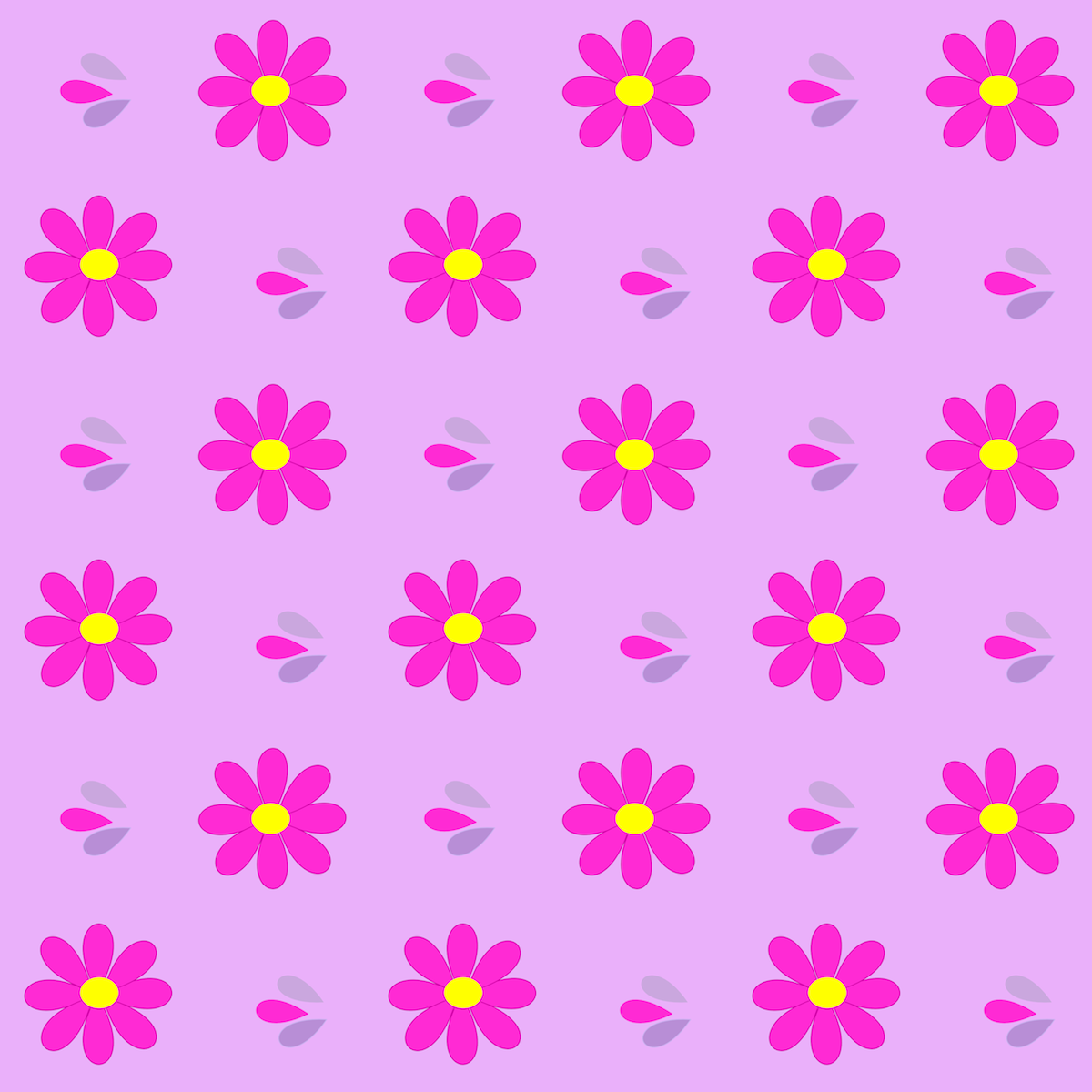 Free digital bright daisy scrapbooking papers ...