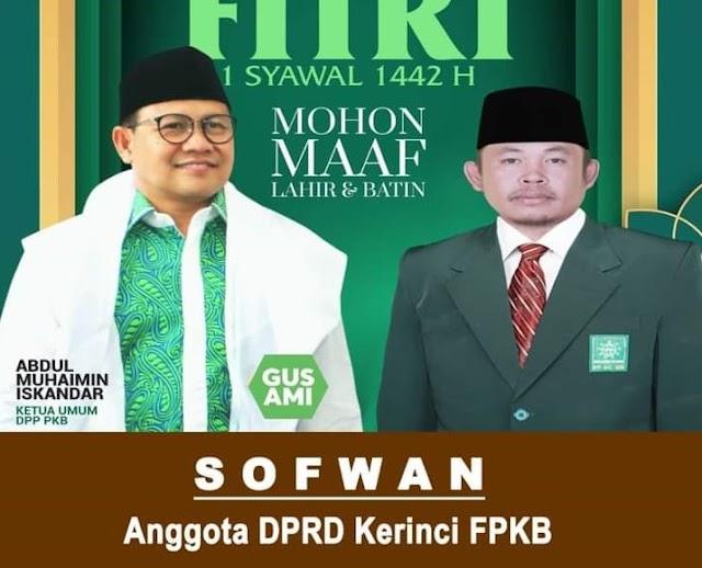 Turun Gunung, Legislator PKB di Kerinci Jadi Saksi di TPS Pondok Beringin