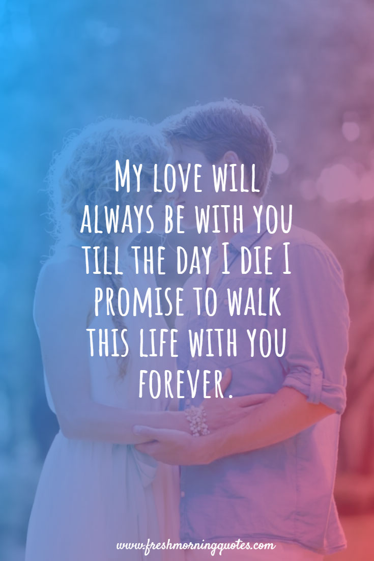my love will be always be with you