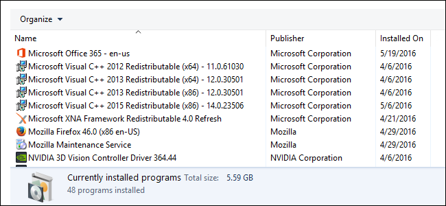 Visual C++ Redistributable Repacked
