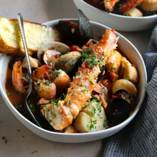CIOPPINO RECIPE (SEAFOOD STEW)