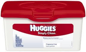 Simply Clean Huggies Wipes