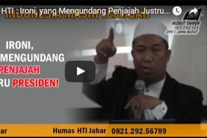 Ketua HTI Sebut Presiden Yang Undang Penjajah Datang Ke Indonesia
