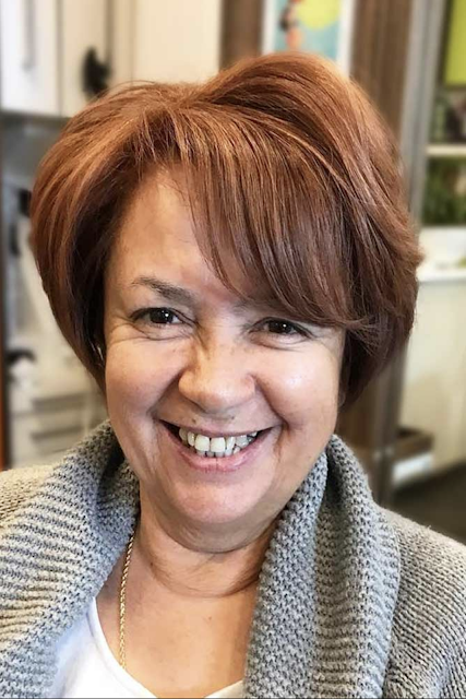 short hairstyles over 50 overweight