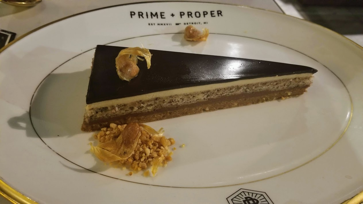 Peanut Butter Pave at Prime + Proper, Detroit