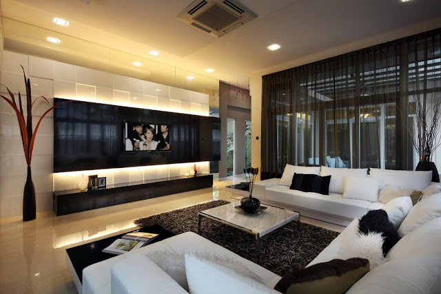 ديكورات غرفة المعيشة من الطراز الحديث:  اليكم أسرار التصميم