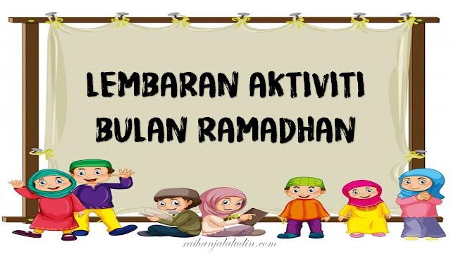 Lembaran Aktiviti Bulan Ramadhan