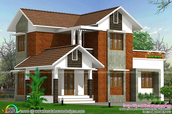 1500 sq-ft Kerala home design