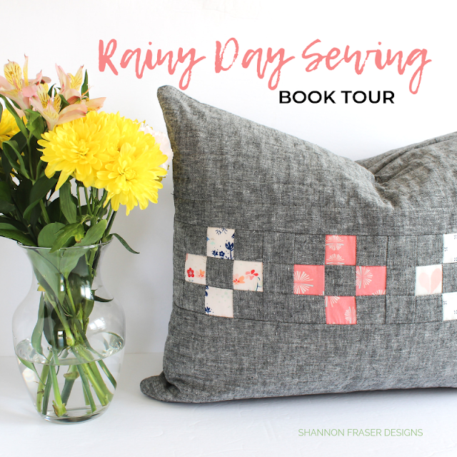 Rainy Day Sewing Book Tour - Spotlight Cushion | Shannon Fraser Designs