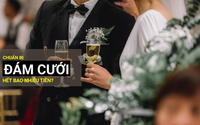 chuẩn bị đám cưới cần bao nhiêu tiền