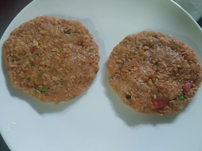 Soya protein Patty for soya protein burger recipe