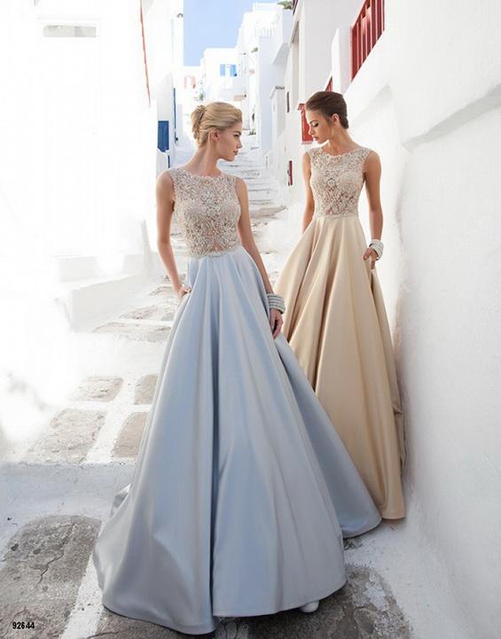 vestidos de modernos