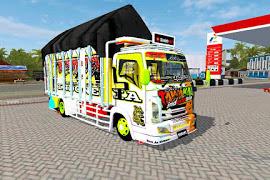 Mod Truck Isuzu NMR71 Tawakal 3 By Souleh Art