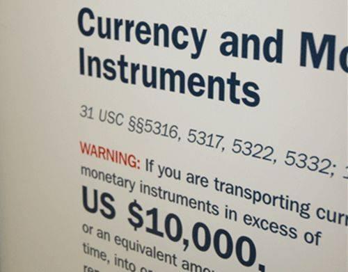 Ðừng phạm luật khi mang thực phẩm, tiền, vào Mỹ 1