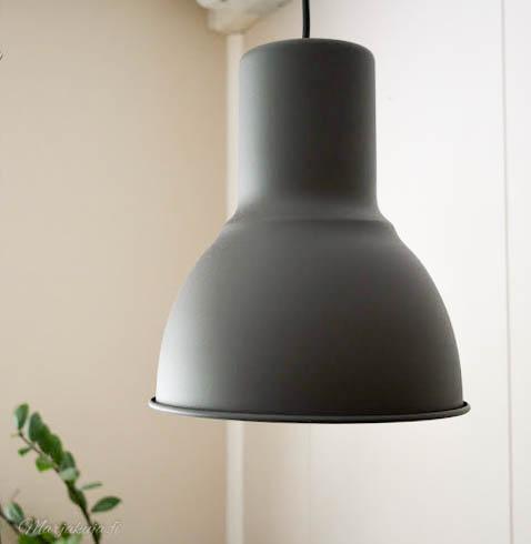 ikea hektar lamppu valaisin sisustus tyyli