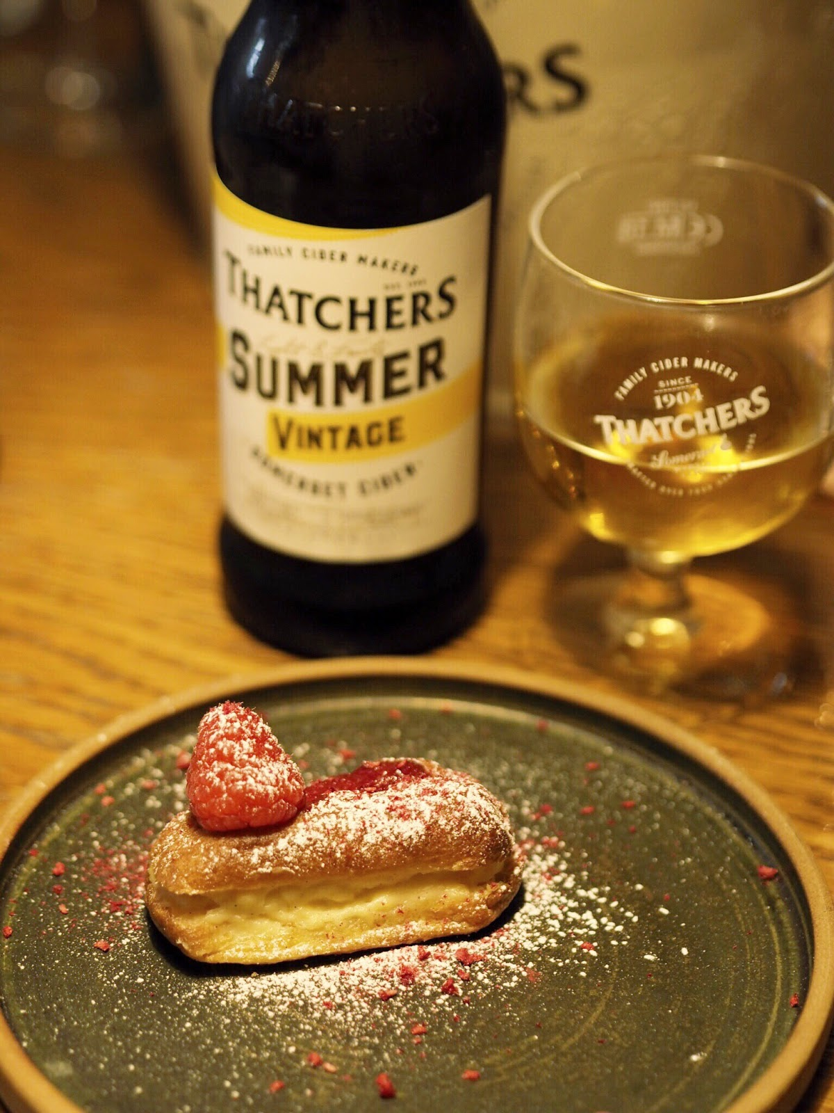 Thatchers Summer Vintage with Raspberry Eclair