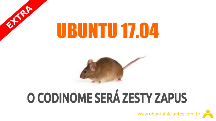 nome do ubuntu 17.04 zesty zapus foi divulgado na internet no blog de Mark Shuttleworth