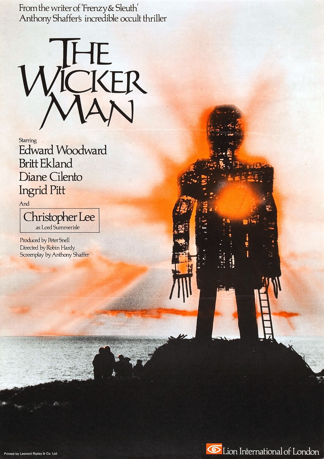 365 Days Of Horror Movies: Day 294: The Wicker Man