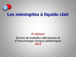 Les méningites à liquide clair.pdf