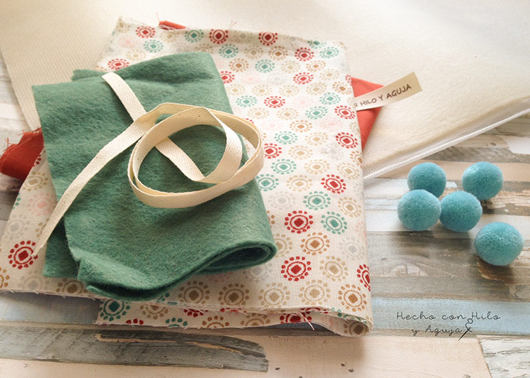 tutorial corona de cumpleaños. coser diy patchwork
