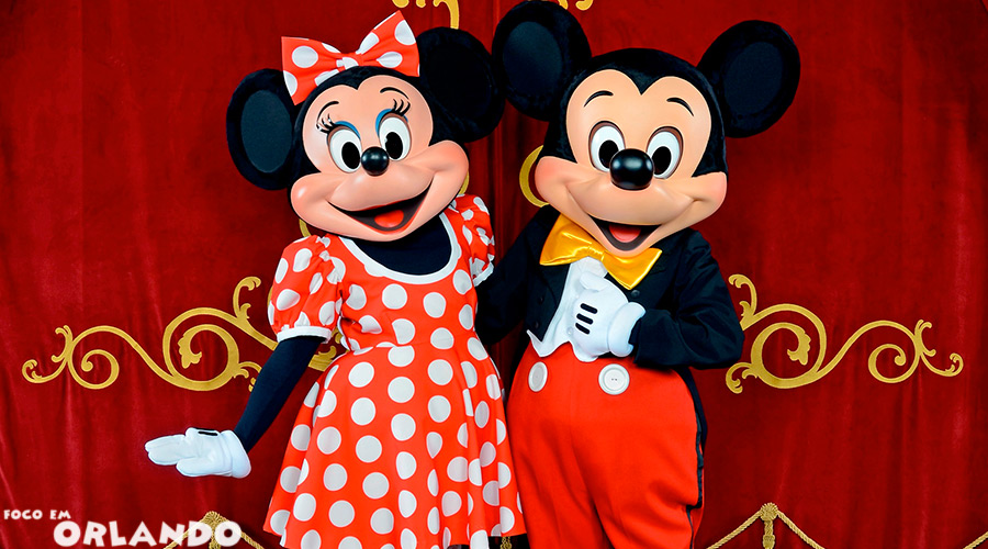 Mickey e Minnie no Town Square Theater, Magic Kingdom