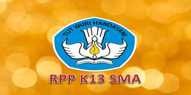 Contoh RPP K13 SMA Lengkap