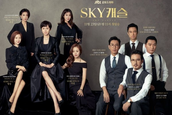 poster sky castle korean drama