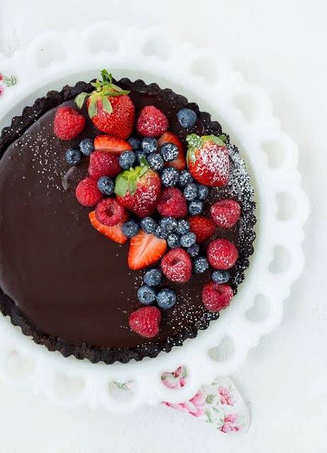 No-Bake Chocolate Tart | Rachel Cooks