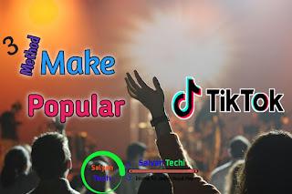 How To Popular in Tiktok, Tiktok Video Viral