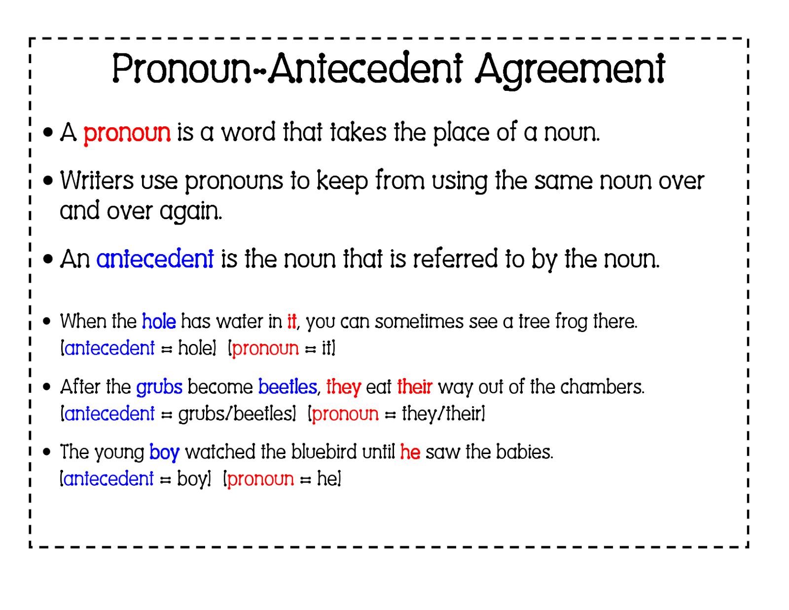 Pronoun Agreement Worksheet. Worksheets. Ratchasima ...