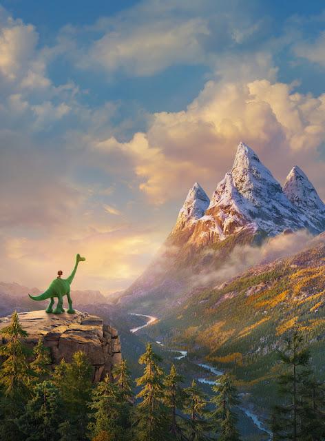 Still shot from The Good Dinosaur