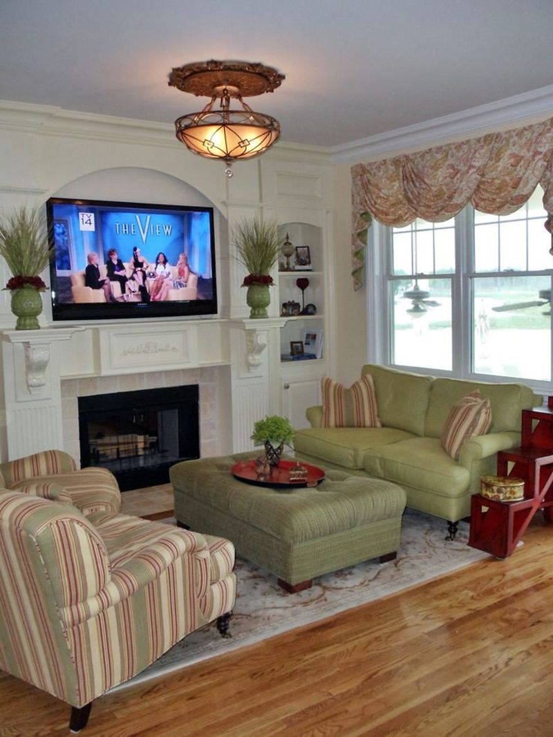 11 Small Living Room With Fireplace and TV - Dream House on Small Space Small Living Room With Fireplace  id=94812